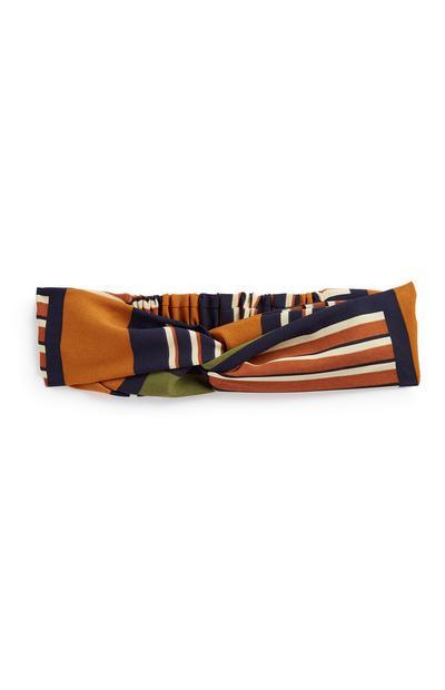 Haarband met strepen