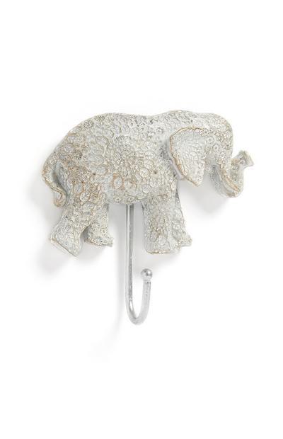 Perchero con forma de elefante