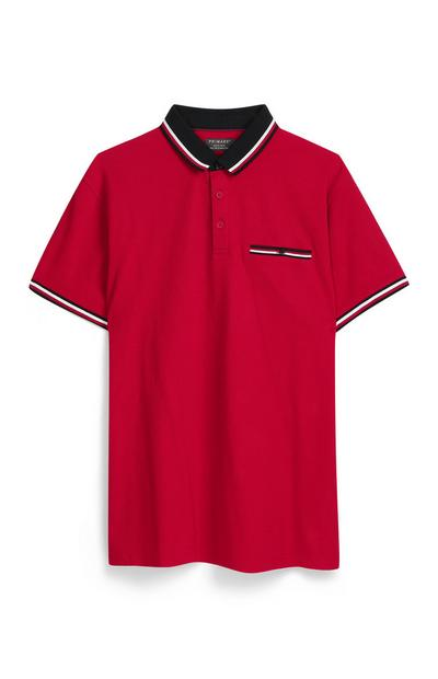 Red Polo Top