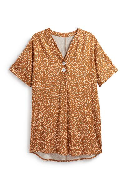 Pattern Tunic Top