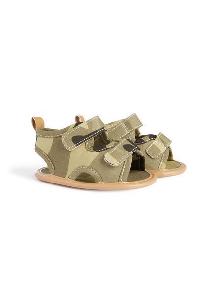 Sandales camouflage bébé garçon