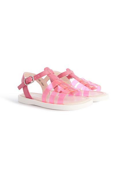 Roze sandalen, meisjes