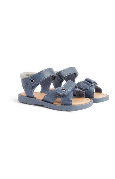 Fantovski sandali za dojenčke, preden shodijo