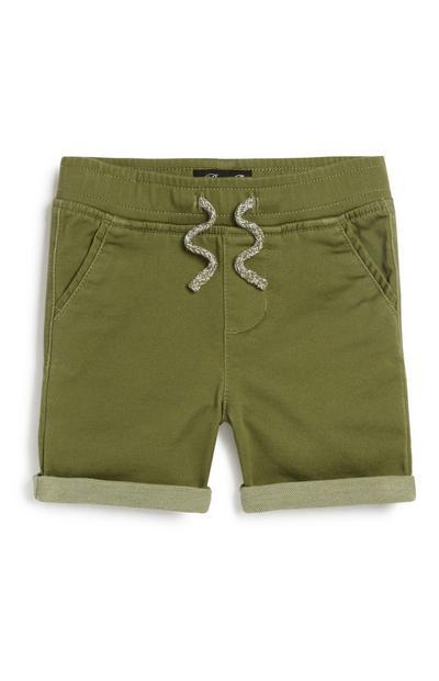 Pantalón corto de punto para bebé niño