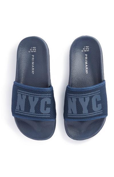 Claquettes NYC ado