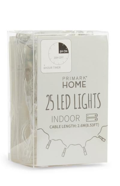Lichtsnoer met 25 ledlampjes
