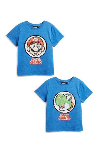 T-shirt Mario, jongens