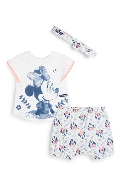 Minnie Mouse-outfit, 3-delig