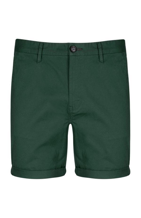 Emerald Green Chino Short