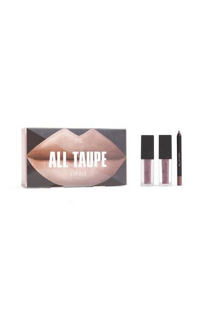 Lippenset Team Nude