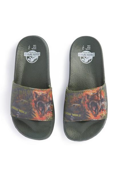 Slippers Jurassic Park voor jongens