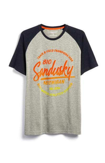 T-shirt à manches raglan Sandusky