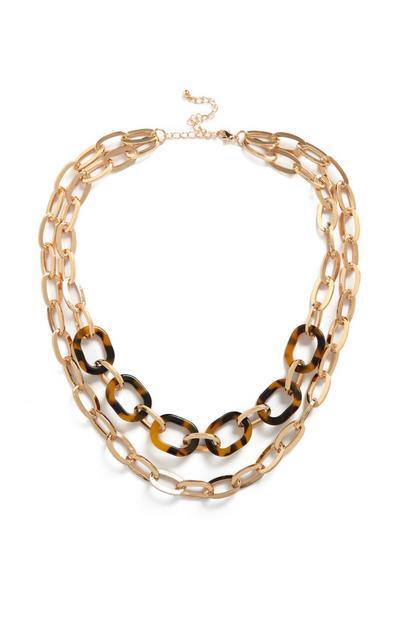 Zweireihige Halskette
