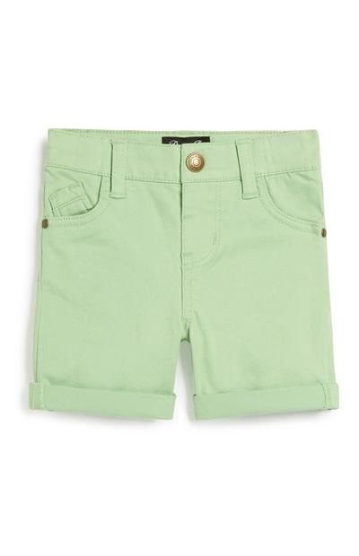 Lindgrüne Shorts für Babys (J)
