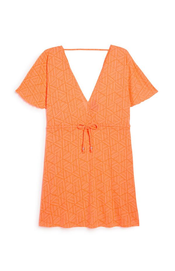 Orange Kaftan