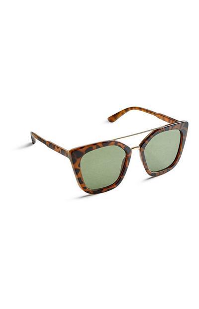 Sonnenbrille in Schildplattoptik