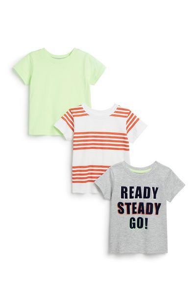 T-Shirt für Babys (J), 3er-Pack