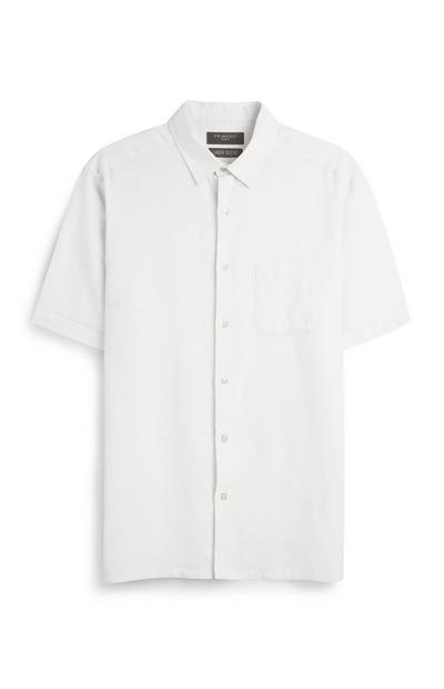 Camisa linho branco