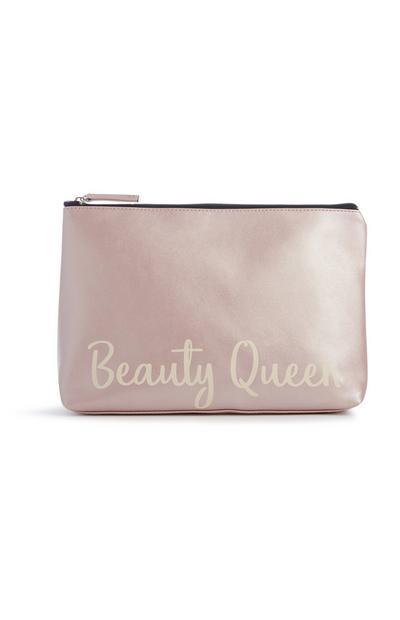 Nécessaire Beauty Queen cor-de-rosa