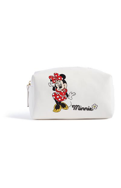Witte Minnie Mouse make-uptas