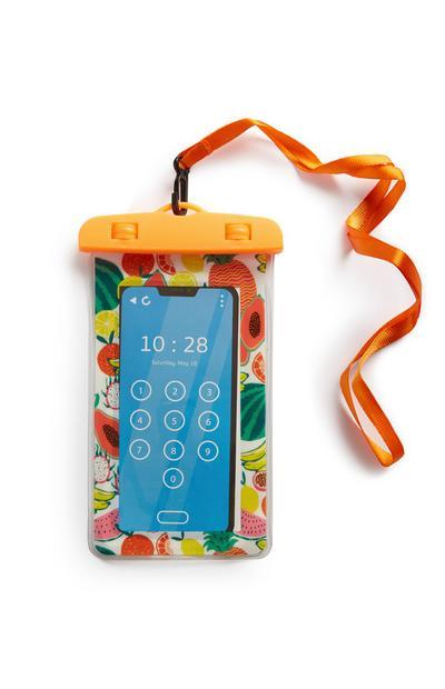 Coque de téléphone à motif fruits