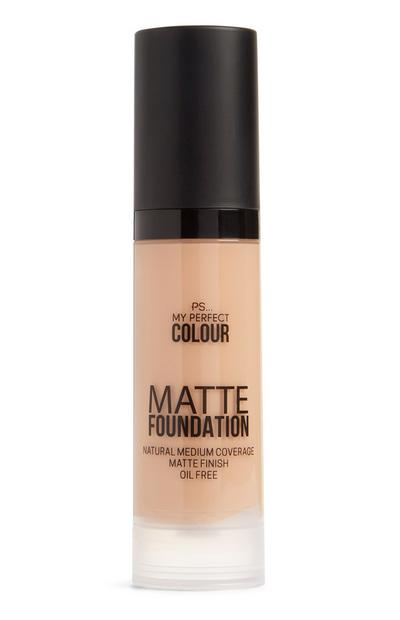 Matte foundation koel zand