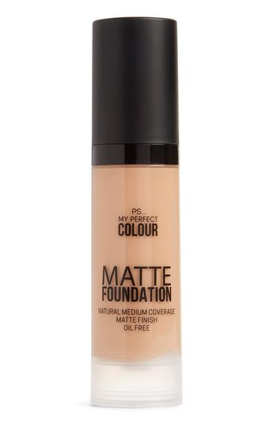 Matte foundation zand