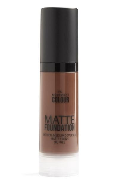 Matte foundation kastanje