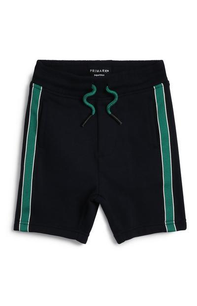 Shorts con righe laterali da bambino
