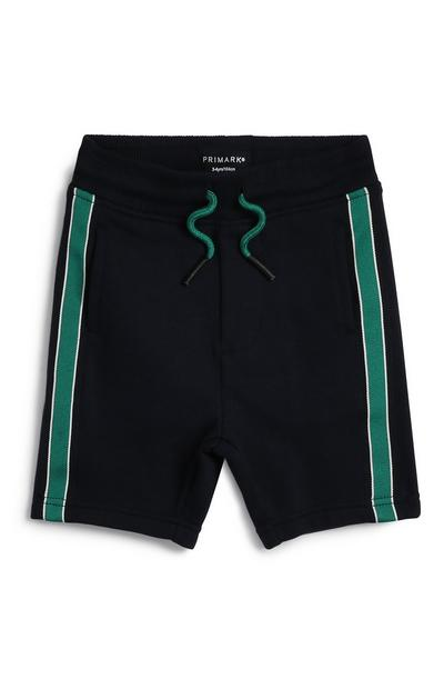 Pantalón corto raya para niño pequeño