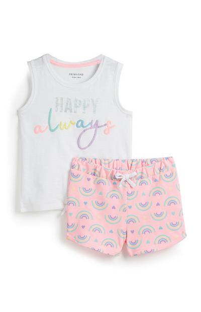 Baby Girl Rainbow Set