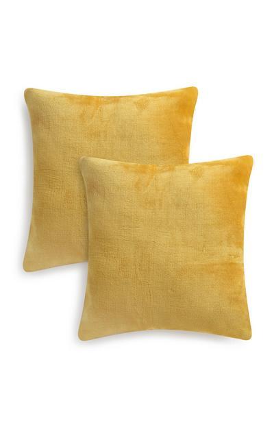 2 cuscini gialli