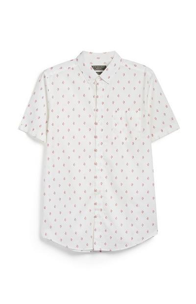 Camicia con stampa a ghiaccioli