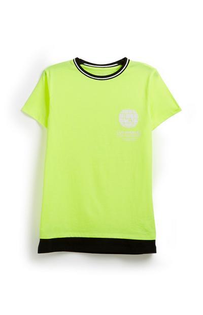 T-shirt fluo ado