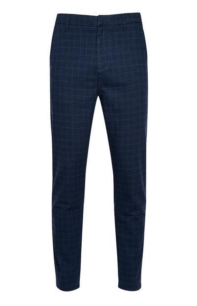 Pantalon slim bleu