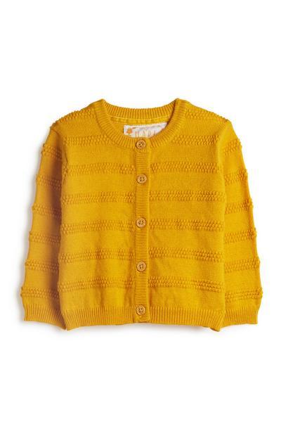 Cardigan tricoté bébé fille