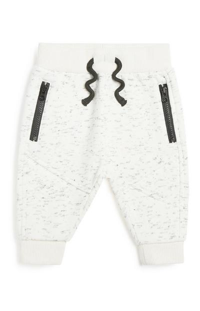 Babyjoggingbroek in bikerstijl, jongens