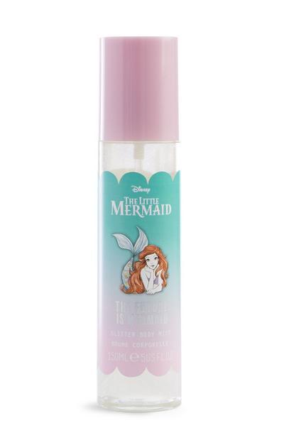 Spray corpo glitterato La Sirenetta