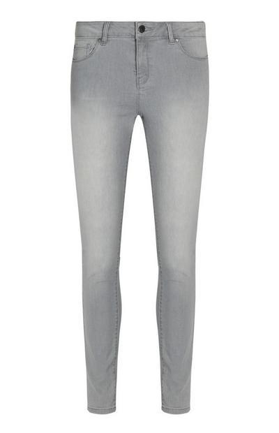 Grey Super Strech Skinny Jean
