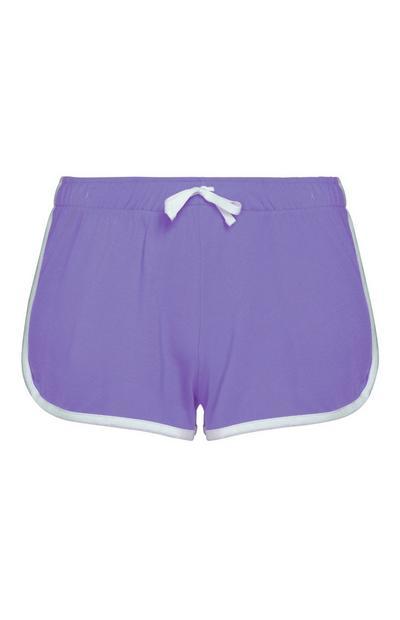 Short de course violet
