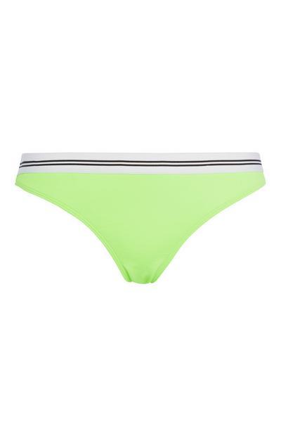 Neonkleurig bikinibroekje
