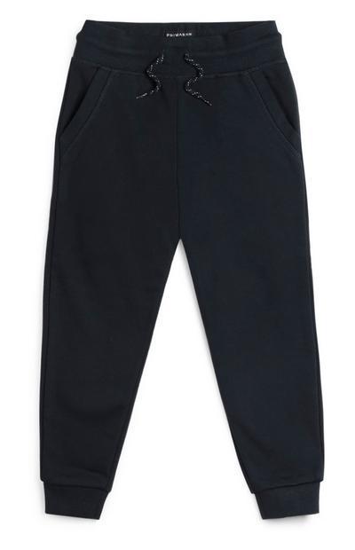 Pantalón de chándal azul marino para niño pequeño