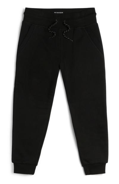 Pantalon de jogging noir garçon