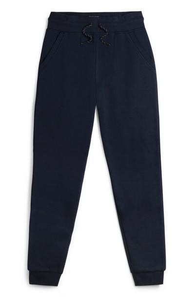Pantalón de chándal azul marino para niño mayor