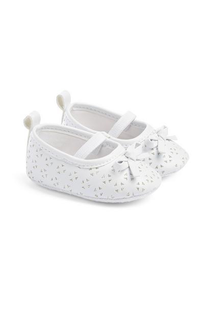 Weiße Schuhe für Babys (M)