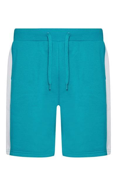 Blauwe shorts