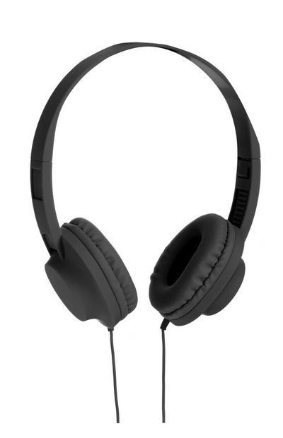 Zwarte hoofdtelefoon