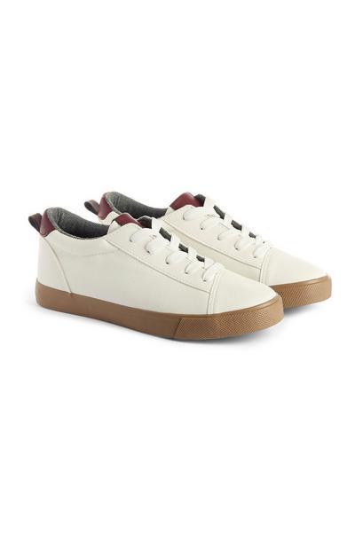 Witte sneaker, jongens