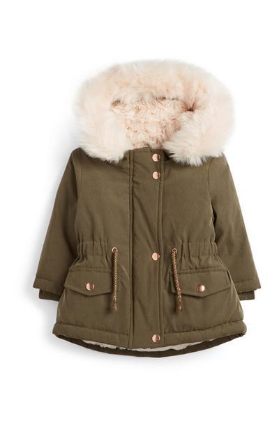 Baby Girl Parka Jacket