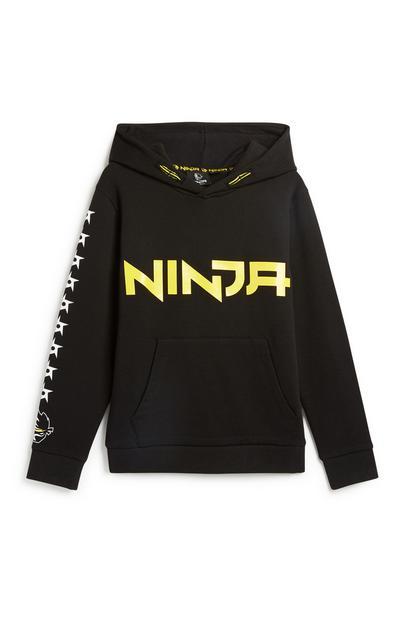 Camisola capuz Ninja